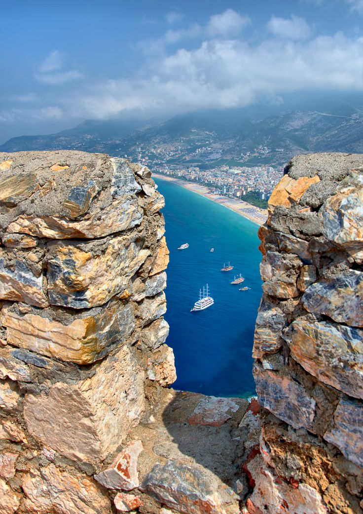 View from Castle Alanya, Turkey by dmitry hdrcreme.com