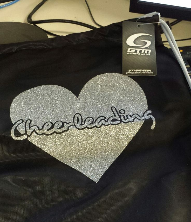 Cute cheer bag found only at http://gtmsportswear.com/ - get yours today! #GTM