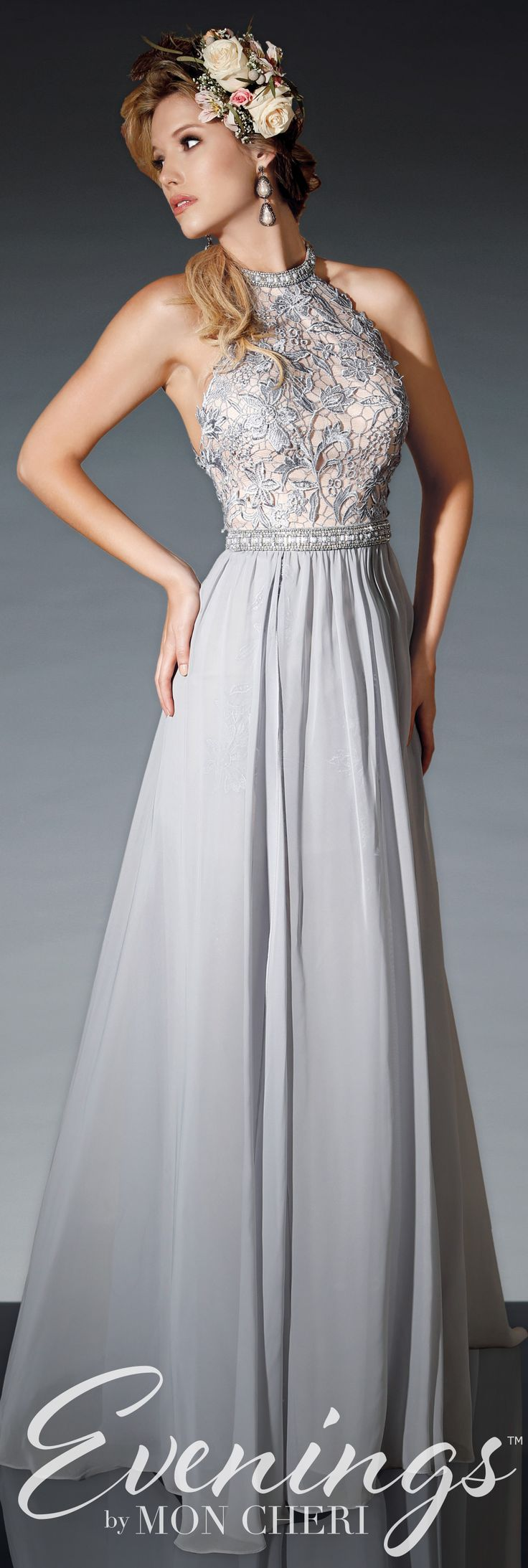 Gorgeous dress for wedding party   best dresses wedding images on Pinterest  Evening gowns Wedding