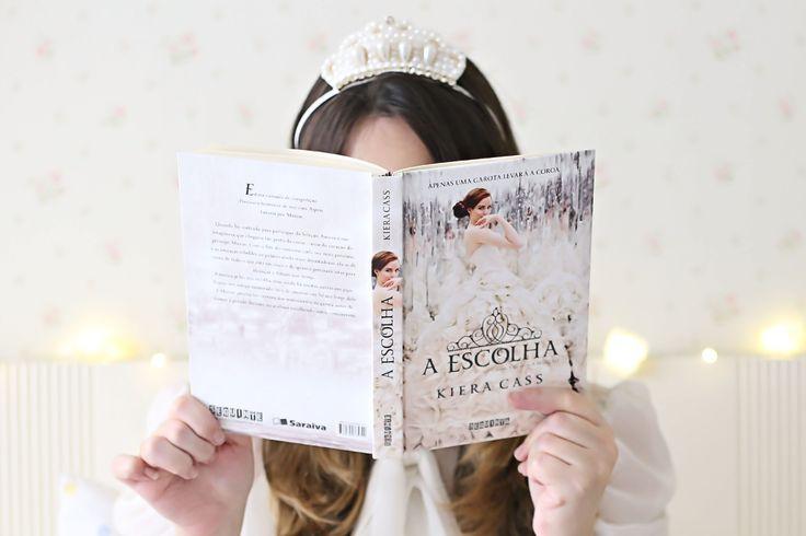 Livro A Escolha da Kiera Cass. #livro