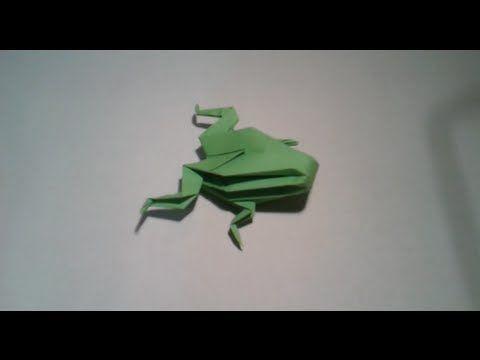 Origami - Como hacer una rana 3D - YouTube