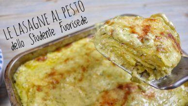 lasagne al pesto e parmigiano