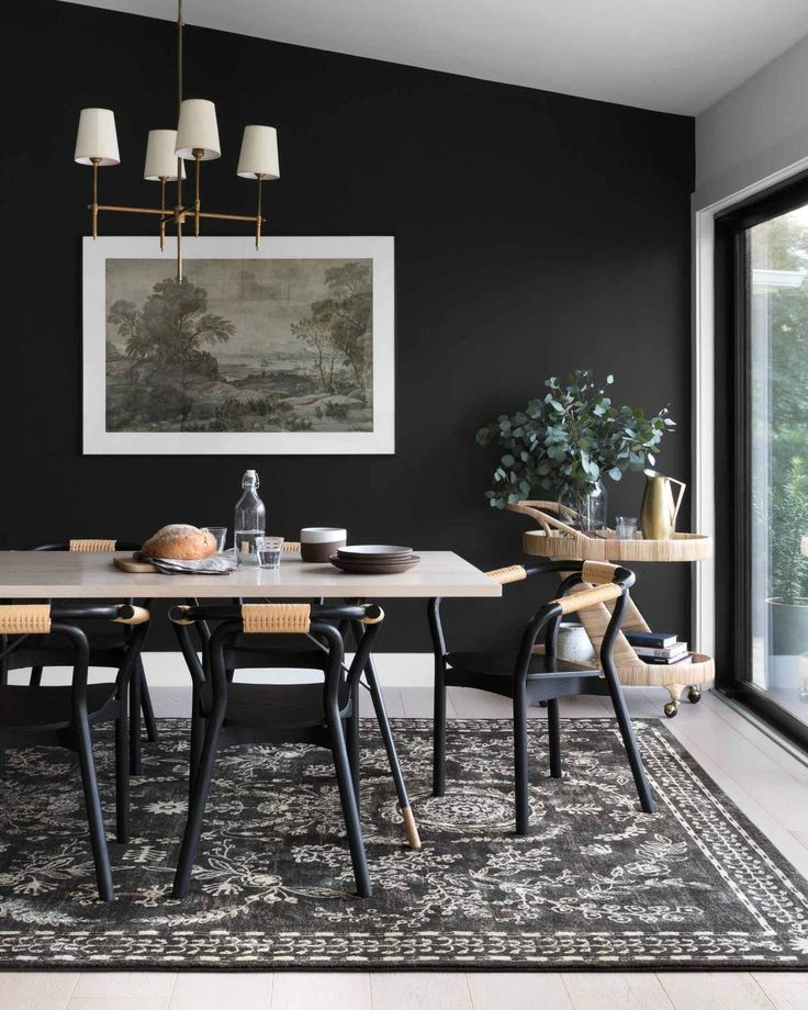 Nairi Collection Black Ivory Discontinued Limited Selection In 2021 Black Dining Room Dining Room Design Modern Dining Room Dark turkish dining room decor