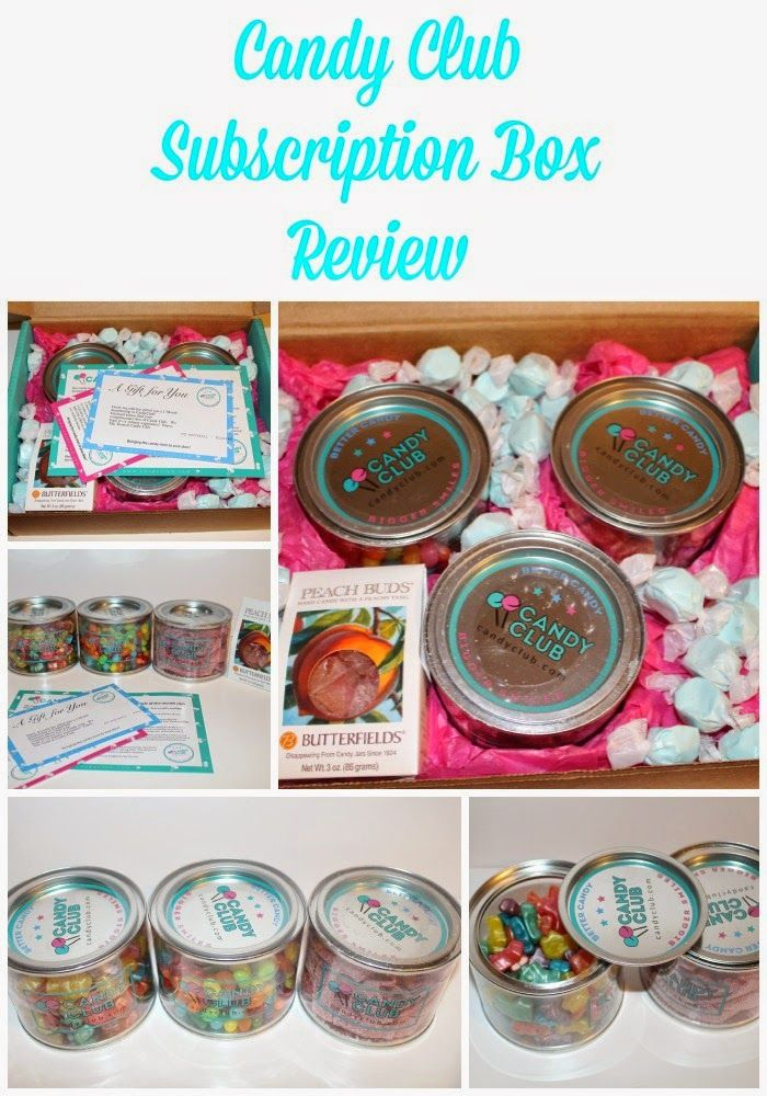 Candy Club Subscription Box Review ~ #HolidayGiftGuide