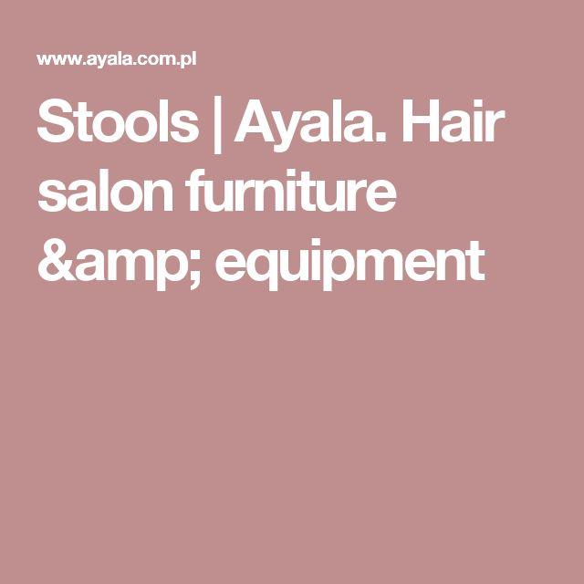 Stools | Ayala. Hair salon furniture & equipment