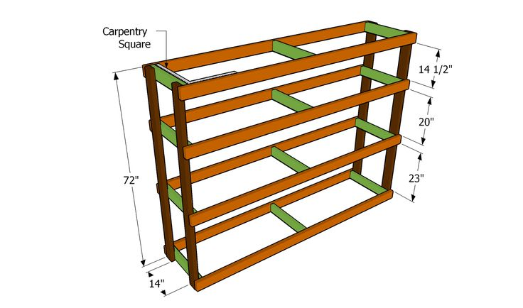 Garage shelf plans Easy Economical Garage Shelving from 2x4s Free plans to build garage shelving using only 2x4s Easy and inexpensive but sturdy and functional Includes Got a lot of stuff in your garage and no way to organize it This article will show you Plastic storage bins and simple shelves turned chaos into order instantly Oct 29 2013 http davewirth blogspot com 2013 01 storage shelf for basement html http davewirth blogspot com 2012 10 how to build garage shelves Pins about DIY Garage…