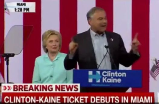 Tim Kaine Speaking In Spanish Promises Amnesty Plan In First 100 Days In Office - BB4SP