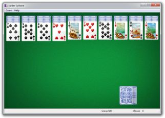 play spider solitaire:  http://agreview.net/tag/solitaire-games