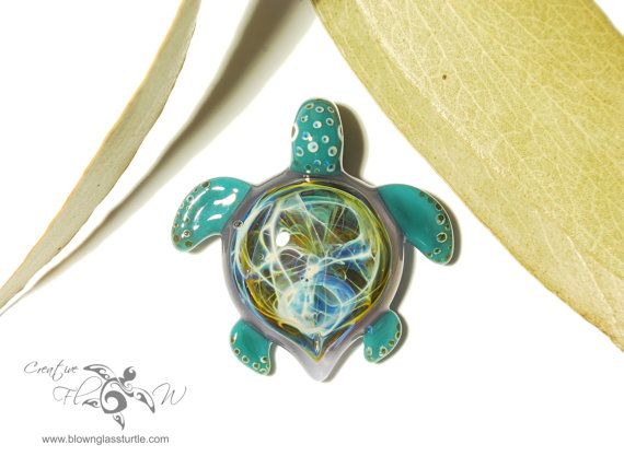 Cosmic turtle 44 pinterest cosmic purple lightning turtle glass turtle pendant hand blown glass one of a kind jewelry made with pure silver mozeypictures Images