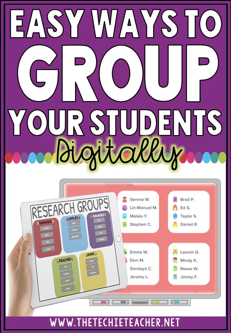 Easy Ways to Group Your Students Digitally
