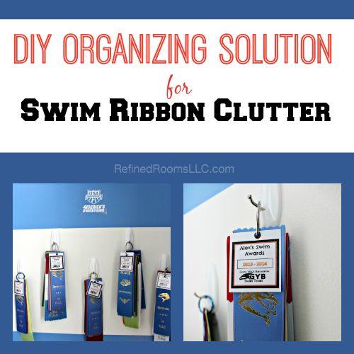 DIY ORGANIZING SOLUTIONS FOR SWIM SWAG  – Ribbons