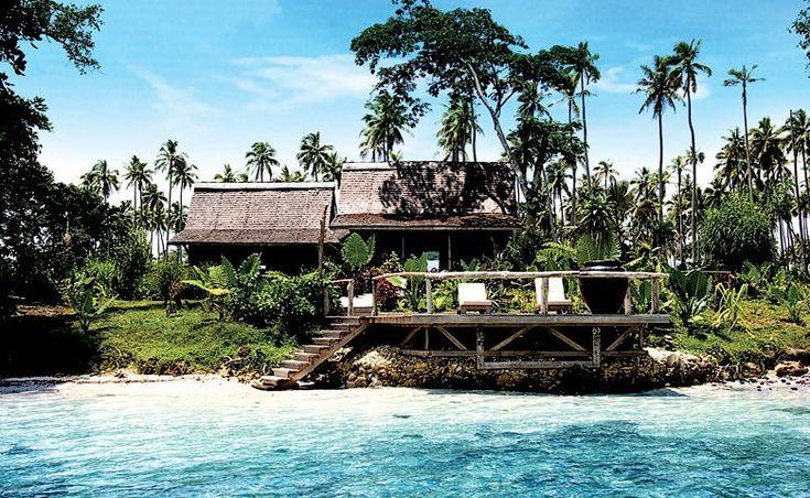 Ratua Private Island in Sanma Province, Vanuatu