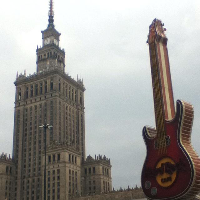 Warsaw, Poland. City center.