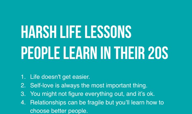 Brutal Yet Important Life Lessons I Wish I Knew Earlier