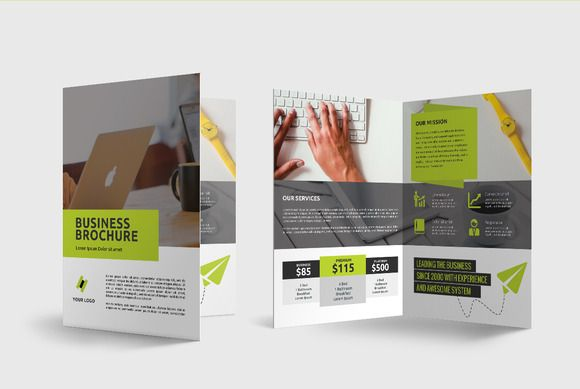 Business Brochure by Comodensis on @creativemarket