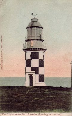 Hood Point Light, East London, South Africa