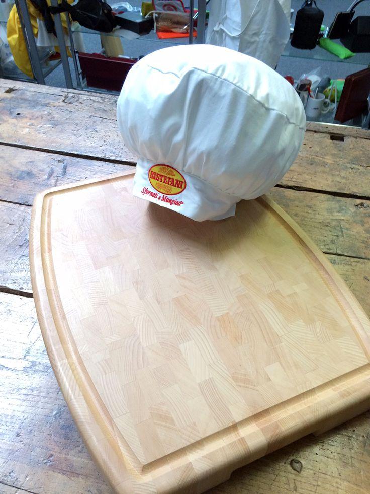 Cappello da cuoco personalizzato + Tagliere in legno personalizzato