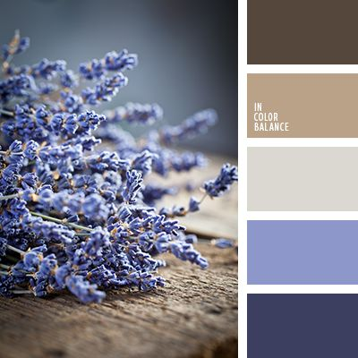 + | Blue lavender and weathered wood - the color tribute to happiness, dreams and freedom ...