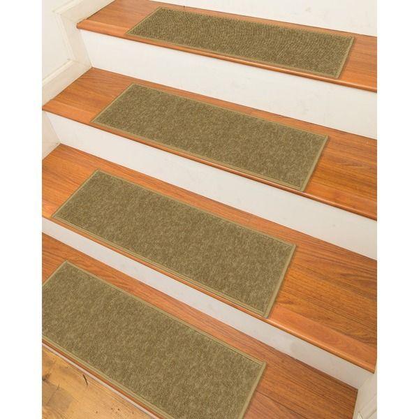 Best Ottomanson Skid Resistant Non Slip Carpet Stair Treads 400 x 300