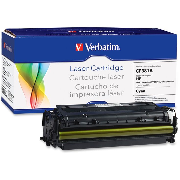 Verbatim Remanufactured Laser Toner Cartridge alternative for HP CF38, Blue #99396