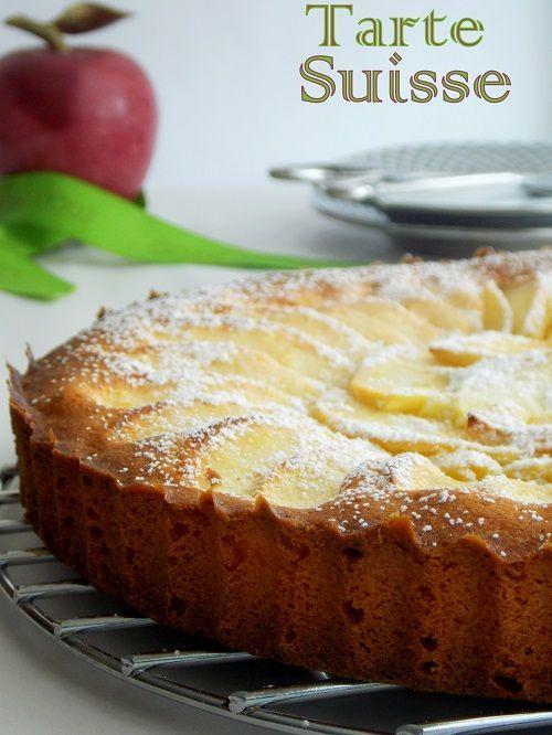 tarte aux pommes suisse