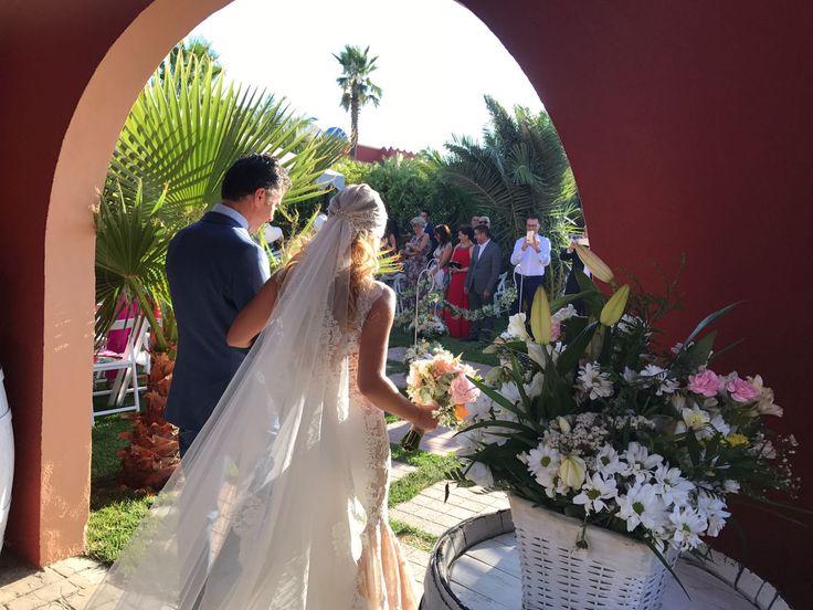 una boda cargada de #sentimiento, #alegría e #ilusión y plagada de pequeños detalles #restauranteboabdil #boda #bodaengranada #granada