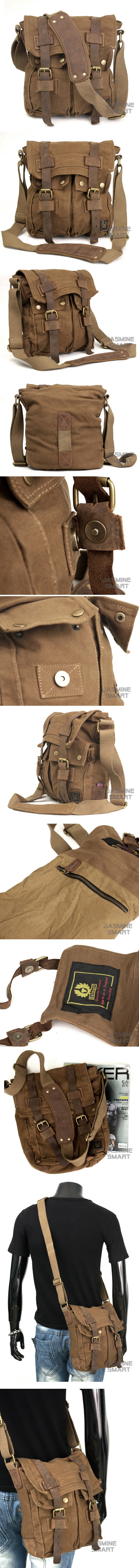 Belstaff Men Colonial Shoulder Bag (MCAB1035)