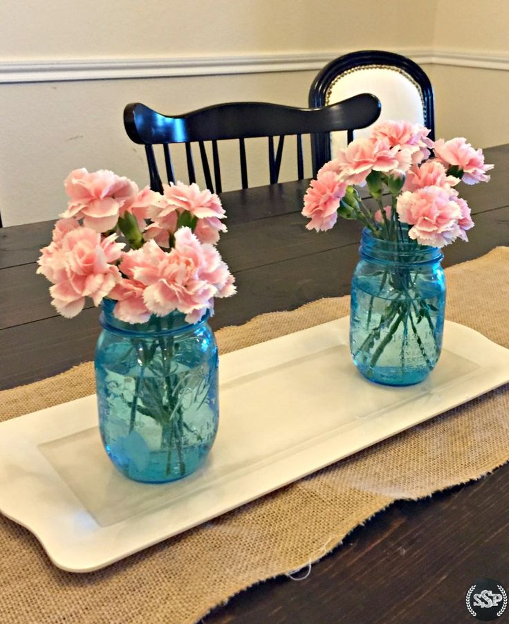 These make the perfect centerpiece for a gender reveal! | Pink or Blue? Baby, What are ewe? | Lamb inspired pink & blue gender reveal party ideas! Works great for baby shower ideas too!
