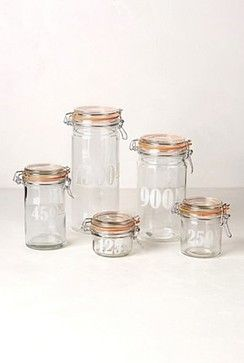 Bale Lid Jar - contemporary - Food Containers And Storage - Anthropologie