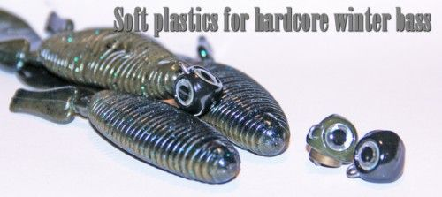 Soft Plastics For Winter Bass Fishing Freedom Tackle