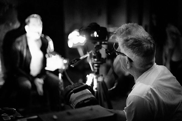 Photos of Nine Inch Nails' Trent Reznor Working With David Lynch on 'Came Back Haunted' Music Video, Photo by Rob Sheridan