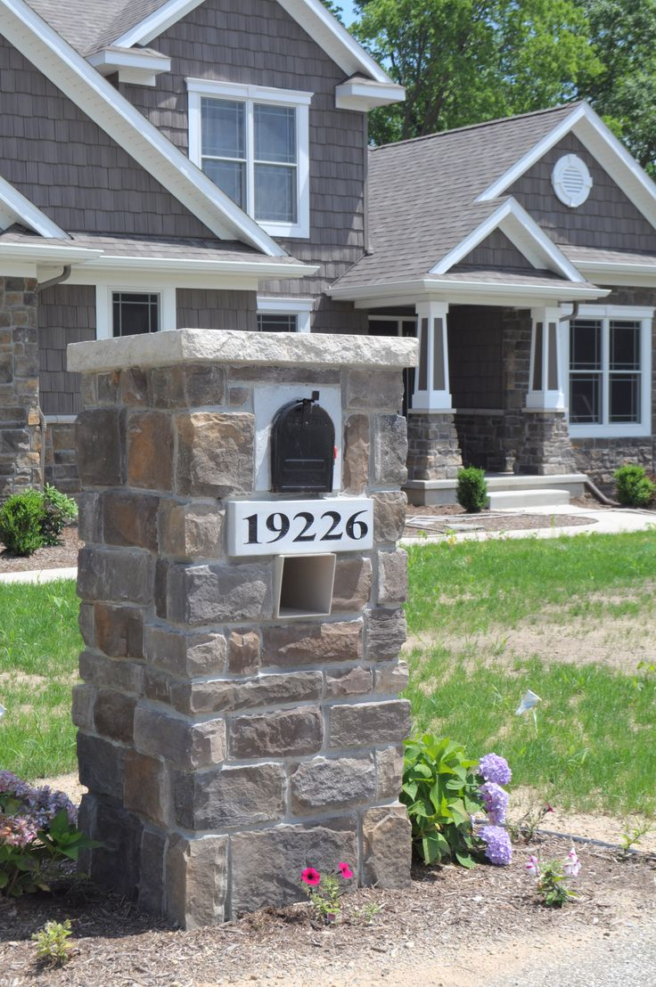 Best 25 craftsman mailboxes ideas on pinterest 2 for Craftsman stone