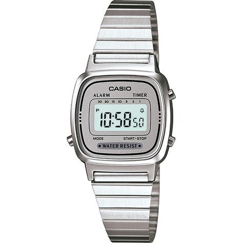 73976799429 Relógio Feminino Casio Vintage Digital Fashion LA670WA-7DF