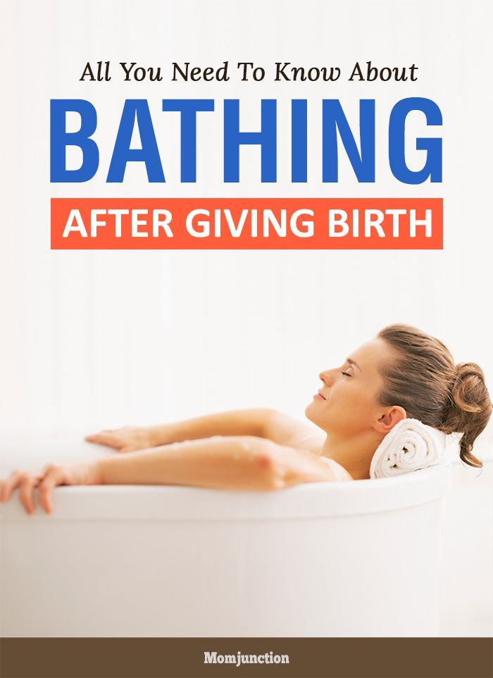 All You Need To Know About Bathing After Giving Birth -4451