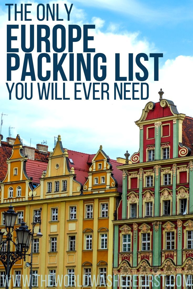551783201b27  Europe  Travel  PackingList  TravelTips  Travelling Europe packing list