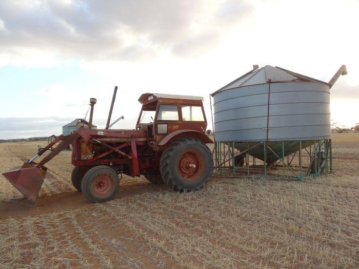 Old tractors never die around here!