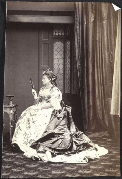 Hortense Schneider dansLa Grande-Duchesse de Gérolsteind'Offenbach. Palais de Compiègne. © RMN / Hervé Lewandowski