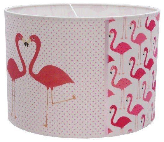 Flamingo lamp Juul Design, Leuke roze lamp met Flamingo's