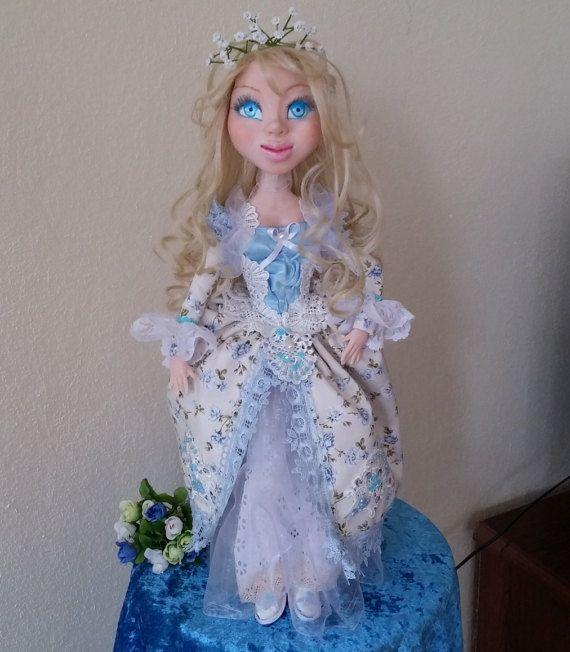 Art doll. Handmade doll. Interior doll. Dressed от TanyaTanyusha