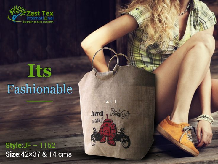 Fashion Jute Bags manufacturers - Jute Products exporters, suppliers of Jute Shopping Bag, Fashion Jute Bags, Jute Bags manufacturer a wholesale jute bags company