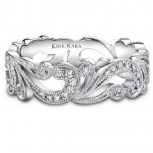 Angelique Collection Pave Scroll Design Wedding Band  Would get remarried just for this ring! Love love love love :)