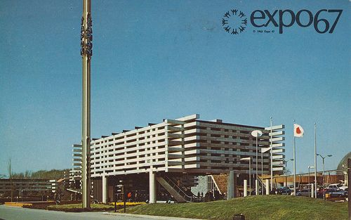 Pavilion of Japan at Expo '67 - Montreal, Quebec