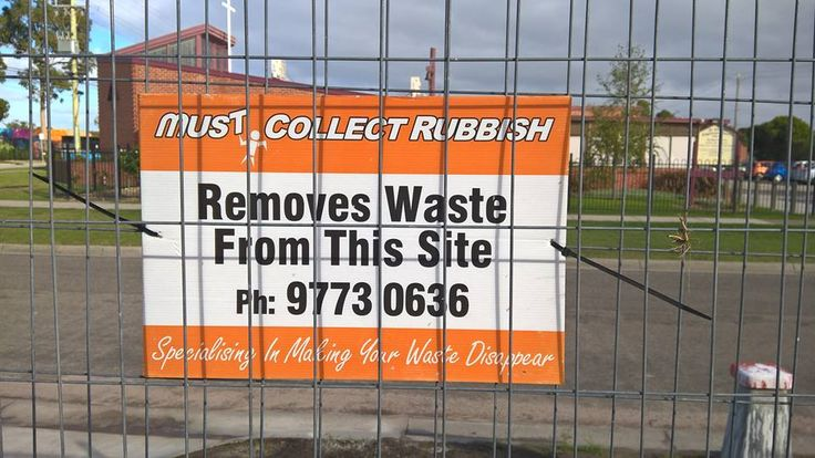 There are several steps that need to be followed if you wish to support the environment by taking the initiative of waste removal at Melbourne.