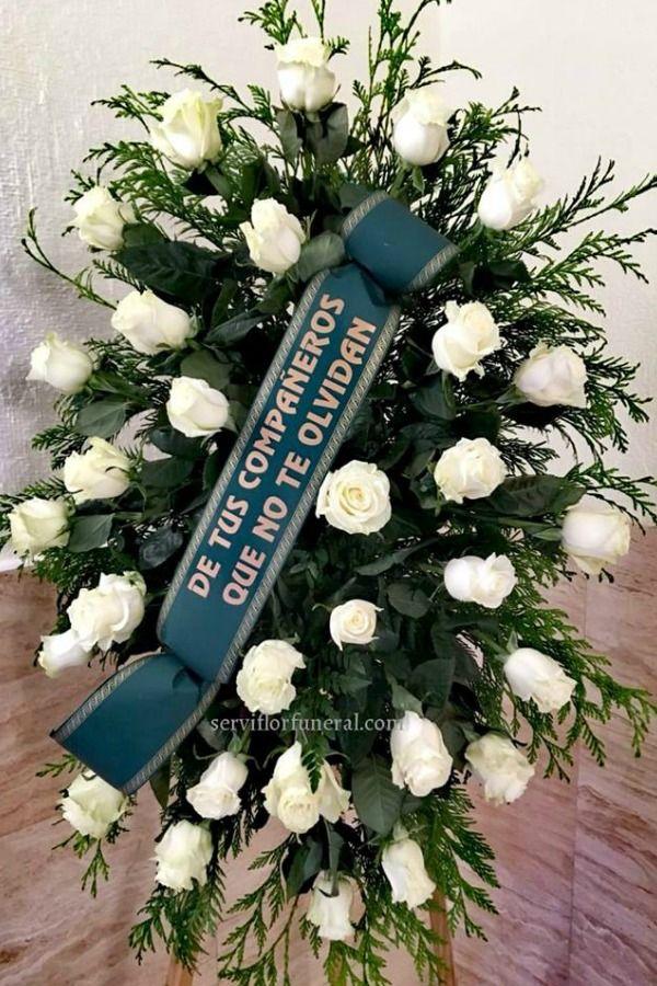 Pin En Centros De Flores Para Funerales