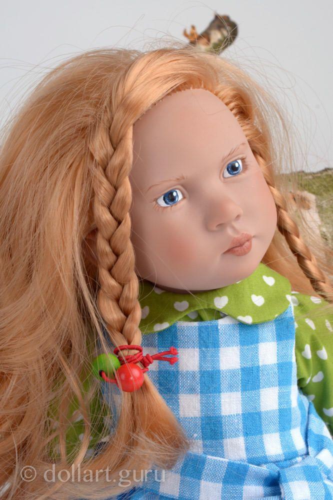 Eleni. Виниловая кукла Цвергназе | Doll Art Guru