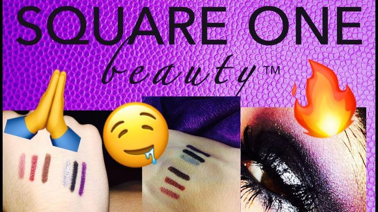 SQUARE ONE BEAUTY EYELINERS & LIPLINERS   FULL REVIEW AND SWATCHES COMIN...
