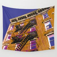 Wall Tapestry featuring Walk Up by designed to a T