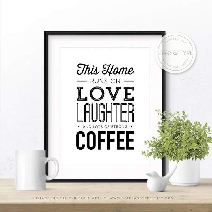 Free Printable Coffee Quotes: 25+ Best Coffee Printable Ideas On Pinterest