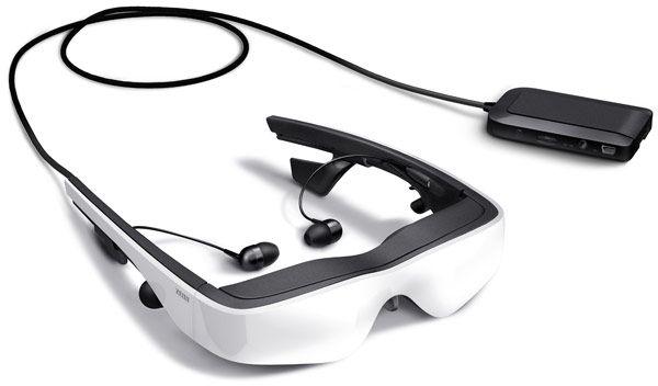 Cinemizer wideookulary OLED 3D do podróży