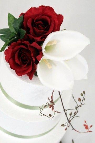torta de novia decoracion 1 piso - Buscar con Google